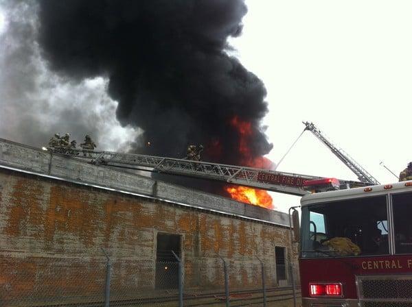 Storage Fire In Watsonville, CA