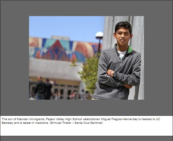 Scurich Insurance Services, CA, Valedictorian